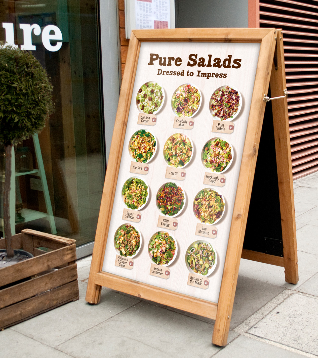 Pure made-for-you design, print and installation of interior retail graphics and signage London