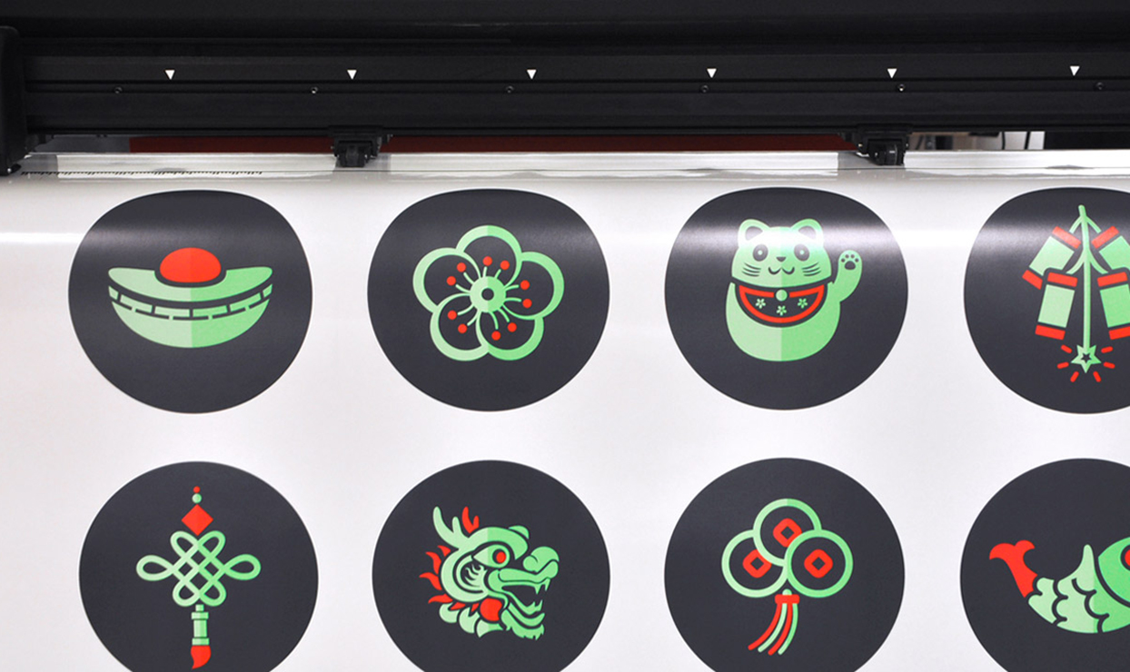 Ping Pong Chinese New Year campaigns – design, vinyl decals, print, installation London