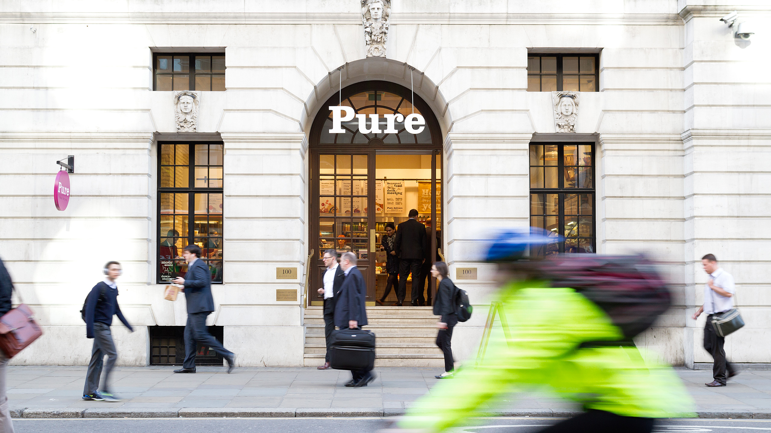 Pure made-for-you design, print and installation of interior retail graphics and signage London. point of sale graphics