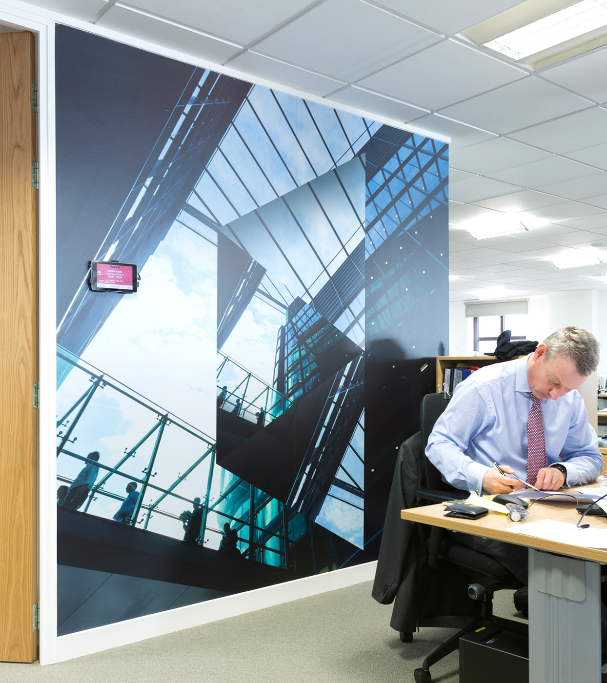 Downing-Internal-Graphics-office graphics wall manifestations self adhesive vinyl print and installation