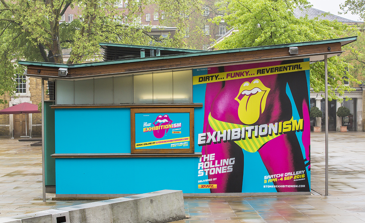 The Graphical Tree Exhibitionism graphic signage installation