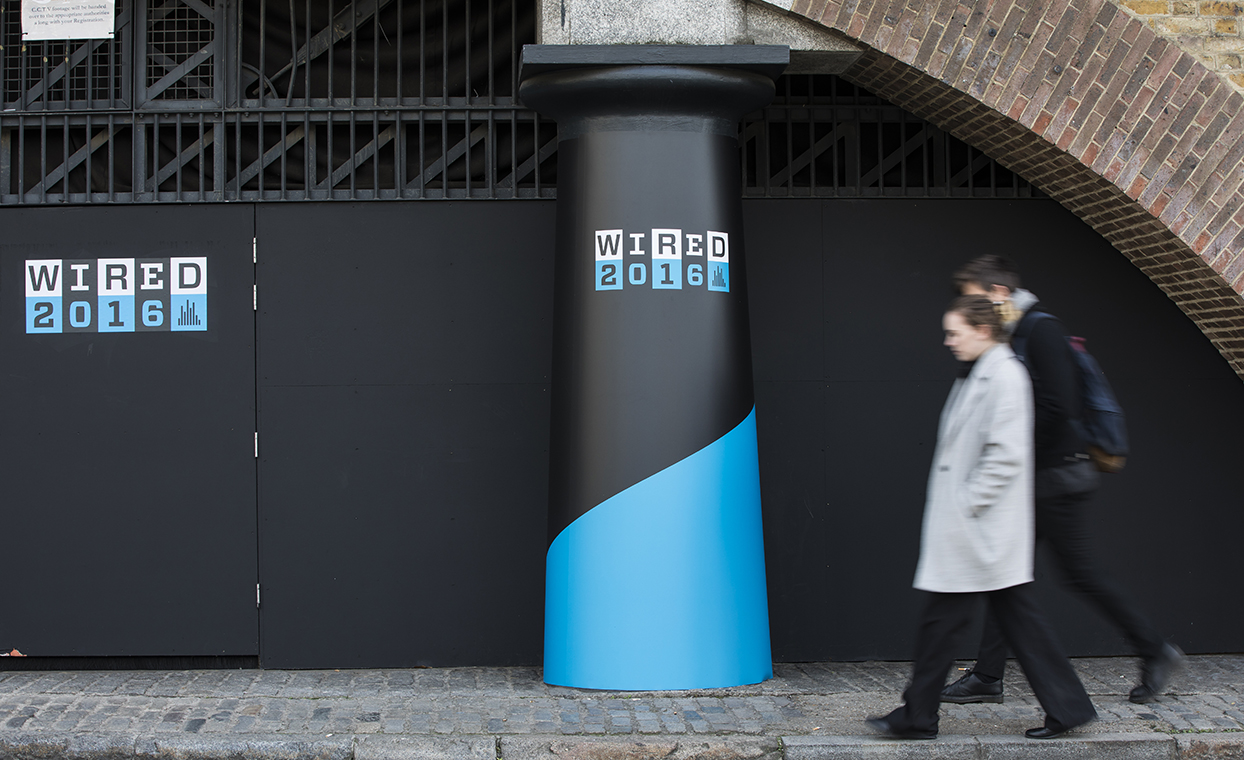 Wried 2016 event graphics tobacco dock