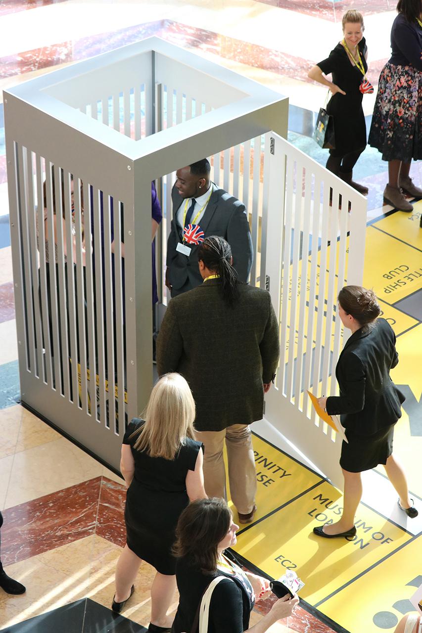 ITA Venues Miniopoly event jail