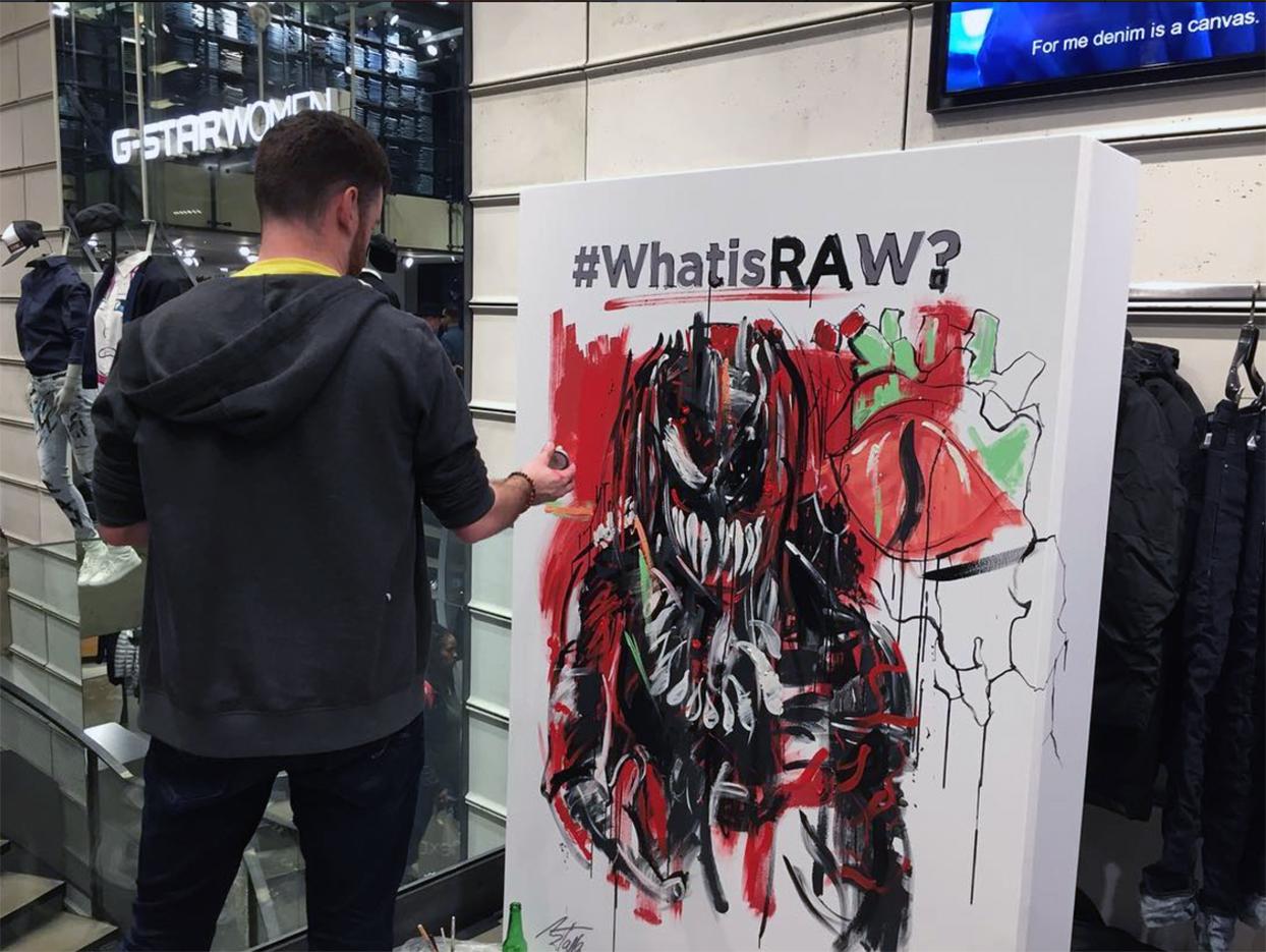 Ben Tallon for G-Star Raw
