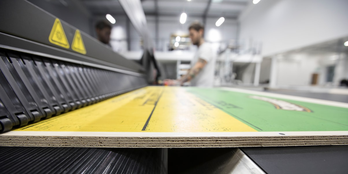 MDF direct to media print