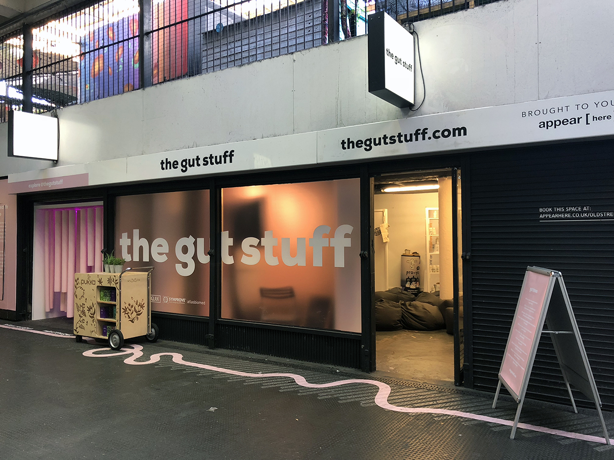 The Gut Stuff pop-up shop