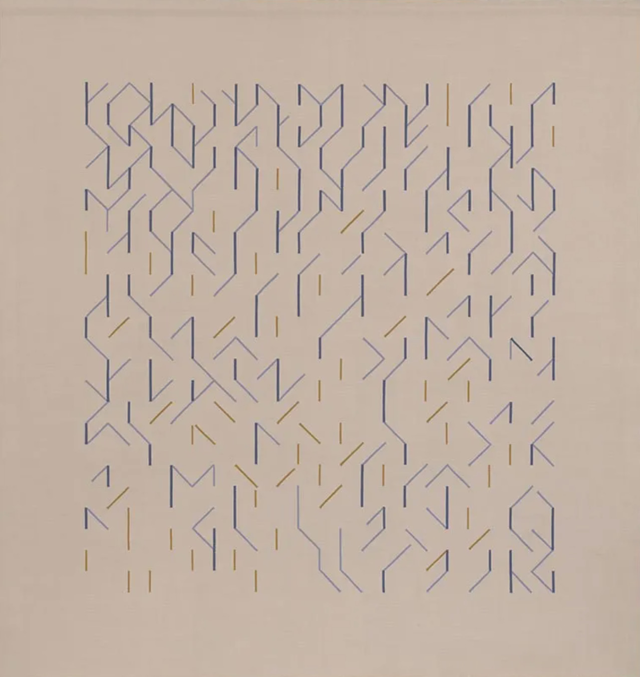 Anni Albers, wallhanging, 1984